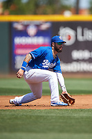 Rancho Cucamonga Quakes shortstop Jacob Amaya (25) during a California League game against the Inland Empire 66ers at LoanMart Field on September 2, 2019 in Rancho Cucamonga, California. Rancho Cucamonga defeated Inland Empire 4-3. (Zachary Lucy/Four Seam Images)