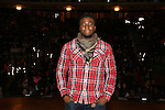 Cast member Okieriete Onaodowan during the Gilder Lehman Institute of American History Education Matinee of 'Hamilton' at the Richard Rodgers  Theatre on November 2, 2016 in New York City.