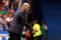 Real Madrid's coach Zinedine Zidane during La Liga match. August 20,2017. (ALTERPHOTOS/Acero)<br /> Deportivo La Coruna - Real Madrid <br /> Liga Campionato Spagna 2017/2018<br /> Foto Alterphotos / Insidefoto <br /> ITALY ONLY