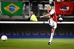 Nederland, Alkmaar, 5 maart 2009..KNVB Beker.Seizoen 2008-2009.AZ-NAC (1-2).Demy de Zeeuw van AZ in actie met de bal
