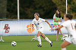 05 November 2008: Florida State's Erika Sutton. Virginia Tech and Florida State University played to a 0-0 tie after two overtimes at Koka Booth Stadium at WakeMed Soccer Park in Cary, NC in a women's ACC tournament quarterfinal game.  Virginia Tech advanced to the semifinal round in penalty kicks, 4-2.