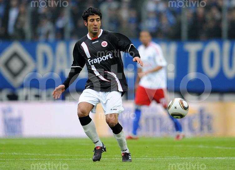 FUSSBALL  1. BUNDESLIGA   SAISON 2009/2010  23. SPIELTAG Hamburger SV - Eintracht Frankfurt                       20.02.2010 Selim TEBER (Eintracht Frankfurt)