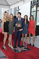 LOS ANGELES - OCT 24:  Georgia Connick, Jill Goodacre, Harry Connick Jr., Charlotte Connick, Sarah Connick at the Harry Connick Jr. Star Ceremony on the Hollywood Walk of Fame on October 24, 2019 in Los Angeles, CA