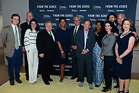 WASHINGTON, DC - JUNE 8: Brandon Dennison, Tommy Wells, Courteney Monroe, Mayor Dale Ross, Mayor Muriel Bowser, Gary Knell, Carl Pope, Misti O'Quinn, Michael Bonfiglio, Susan Goldberg attend an advanced screening of 'From the Ashes' presented by National Geographic and Bloomberg Philanthropies at National Geographic Headquarters on June 8, 2017 in Washington, DC. (Photo by Don Baxter/National Geographic/PictureGroup)