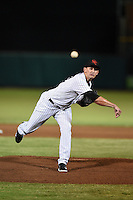 Scottsdale Scorpions pitcher Alex Smith (57) during an Arizona Fall League game against the Salt River Rafters on October 8, 2014 at Scottsdale Stadium in Scottsdale, Arizona.  Salt River defeated Scottsdale 6-3.  (Mike Janes/Four Seam Images)