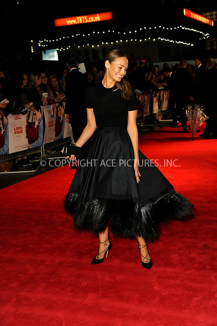 WWW.ACEPIXS.COM<br /> <br /> US SALES ONLY<br /> <br /> October 6, 2014, London, England<br />  <br /> Laura Haddock arriving at the World Premiere of 'Love, Rosie' held at Odeon West End on October 6, 2014 in London, England.<br /> <br /> By Line: Famous/ACE Pictures<br /> <br /> ACE Pictures, Inc<br /> Tel: 646 769 0430<br /> Email: info@acepixs.com