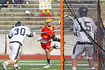 Mission Viejo, CA 05/14/11 - Will Maners (Loyola #30) and unidentified Mission Viejo player in action during the Division 2 US Lacrosse / CIF Southern Section Championship game between Mission Viejo and Loyola at Redondo Union High School.