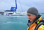 Start of the Route Du Rhum 2014.