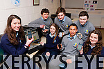 Mary O'Connor left and Castleisland Presentation and St Patricks College students who are teaching senior citizens how to use the internet using 121 Digital technology l-r: front row l-r: Eimear Horgan, Milan Williams, Rachel O'Connor.  Back row: Jack Daly, Jack Walsh, Sean McNally