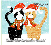 Kate, CHRISTMAS ANIMALS, WEIHNACHTEN TIERE, NAVIDAD ANIMALES, paintings+++++Christmas page 69,GBKM193,#xa# ,cat,cats