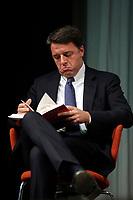 Matteo Renzi <br /> Roma 11/10/2017. Centro Congressi Alibert. Presentazione del libro 'PD davvero'.<br /> Rome October 11th 2017. Presentation of the book 'Really PD'.<br /> Foto Samantha Zucchi Insidefoto