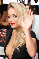 LOS ANGELES, CA, USA - APRIL 13: Rita Ora at the 2014 MTV Movie Awards held at Nokia Theatre L.A. Live on April 13, 2014 in Los Angeles, California, United States. (Photo by Xavier Collin/Celebrity Monitor)
