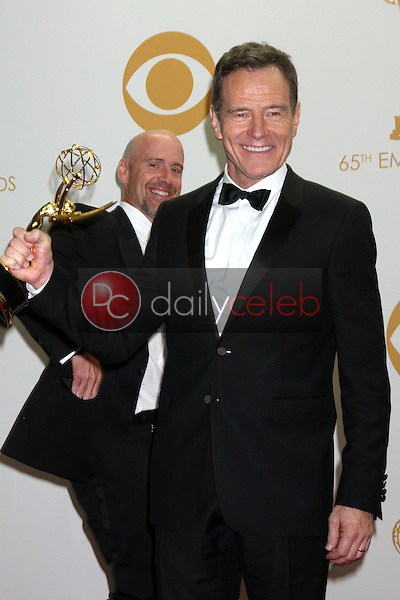 Bryan Cranston<br /> at the 65th Annual Primetime Emmy Awards Press Room, Nokia Theater, Los Angeles, CA 09-22-13<br /> David Edwards/DailyCeleb.Com 818-249-4998