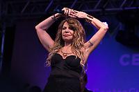 SÃO PAULO, SP, 11.06.2017 - SHOW-SP A cantora Elba Ramalho se apresenta na tarde deste domingo, 11, no prédio da Fiesp, na Avenida Paulista, na região central de São Paulo. (Foto: Ciça Neder/Brazil Photo Press)