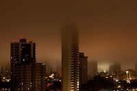 Madrugada de chuvas e neblina na capital do Par·.
