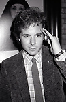 Desi Arnaz Jr. after a Broadway show on January 17, 1983 in New York City.