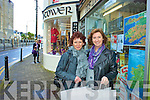 Maria Houlihan & Eileen O'Connor Christmas shopping in Cahersiveen.