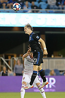 SAN JOSE, CA - JULY 06: Florian Jungwirth #23 during a Major League Soccer (MLS) match between the San Jose Earthquakes and Real Salt Lake on July 06, 2019 at Avaya Stadium in San Jose, California.