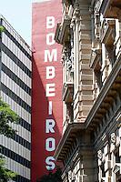 SAO PAULO, SP, 09 DE MARCO DE 2012 - SOLENIDADE DIA DO BOMBEIRO - Solenidade comemorativa ao Dia do Bombeiro Brasileiro, na Praca da Se na regiao central da capital paulista, nesta sexta-feira, 09. (FOTO: VANESSA CARVALHO / BRAZIL PHOTO PRESS).