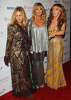 BEVERLY HILLS, CA, USA - NOVEMBER 21: Rosanna Arquette, Goldie Hawn, Kathy Griffin arrive at Goldie Hawn's Inaugural 'Love In For Kids' Benefiting The Hawn Foundation's MindUp Program held at Ron Burkle's Green Acres Estate on November 21, 2014 in Beverly Hills, California, United States. (Photo by Celebrity Monitor)