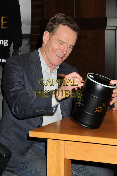 LOS ANGELES, CA - NOVEMBER 25: Bryan Cranston attends the 'No Half Measures: Creating The Final Season Of Breaking Bad' DVD launch and signing held at Barnes &amp; Noble bookstore at The Grove on November 25, 2013 in Los Angeles, California. <br /> CAP/ADM/BP<br /> &copy;Byron Purvis/AdMedia/Capital Pictures