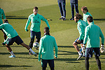 Real Madrid's  Jovic, Marcelo, Modric and Vinicius Jr. during training session. <br /> November 25 ,2019.<br /> (ALTERPHOTOS/David Jar)