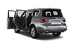 Car images close up view of a 2019 Infiniti QX80 Base 5 Door SUV doors