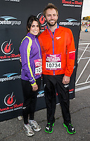LAS VEGAS, NV - December 2 :  Nikki Reed and Paul McDonald pictured at Rock and Roll Marathon & 1/2 on The Las Vegas Strip at Night on December 2, 2012 in Las Vegas, Nevada. © Kabik/ Starlitepics /MediaPunch Inc. ©/NortePhoto /NortePhoto©