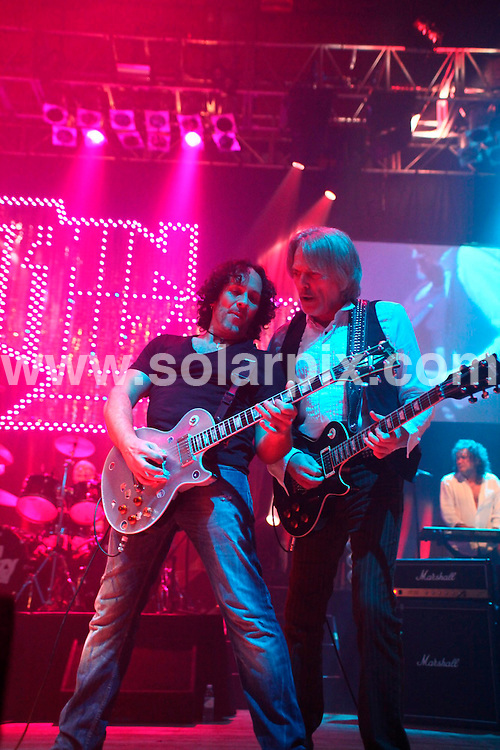 **ALL ROUND PICTURES FROM SOLARPIX.COM**                                             **WORLDWIDE SYNDICATION RIGHTS**                                                                                  Thin Lizzy in concert @ the Wolverhampton Civic Hall on Friday, January 14th 2011                                                                         This pic:     Thin Lizzy                                                                                         JOB REF:    12671    NYA       DATE:  14.01.11                                                          **MUST CREDIT SOLARPIX.COM OR DOUBLE FEE WILL BE CHARGED**                                                                      **MUST AGREE FEE BEFORE ONLINE USAGE**                               **CALL US ON: +34 952 811 768 or LOW RATE FROM UK 0844 617 7637**
