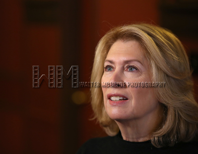 Carole Rothman attends photo call for the Second Stage Theatre Company production of 'Straight White Men'  at Sardi's on June 14 30, 2018 in New York City.