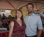 Jarre and Andrew Pott during the Basque Fry at the Corley Ranch  in Gardnerville, Nevada on Saturday, August 26, 2017.