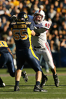 2 December 2006: Mike Silva during Stanford's 26-17 loss to Cal in the 109th Big Game at Memorial Stadium in Berkeley, CA.