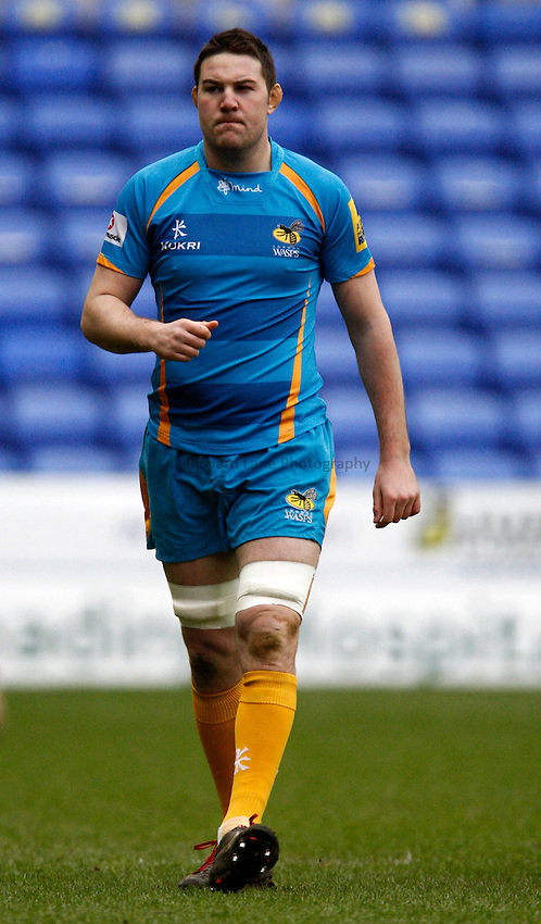 Photo: Richard Lane/Richard Lane Photography. London Irish v London Wasps. Aviva Premiership. 24/02/2013. Wasps' Alex Rae.