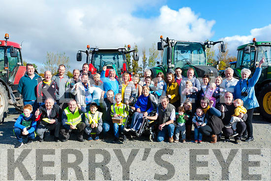 Members of Tralee Branch of MS Ireland who were at the start of the Charity Tractor Run in aid of MS Ireland from the Rose Hotel,Tralee on Sunday