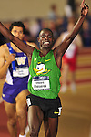 11 MAR 2016:   Edward Cheserek of Oregon wins the Men's 5000M Run at the Division I Men&rsquo;s and Women&rsquo;s Indoor Track &amp; Field Championship is held at<br /> the Crossplex in Birmingham, Al. Tom<br /> Ewart/NCAA Photos