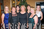 Tralee ladies having fun last Friday night in the Ballygarry house hotel for Little Christmas were l-r: Natasha O'Meara, Mary Ennis, Denise and Anne Hanbidge, Carol Ann and Geraldine O'Meara with Irene Ralston.