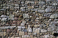 wall made of fieldstone