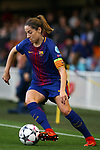 UEFA Women's Champions League 2017/2018.<br /> Quarter Finals.<br /> FC Barcelona vs Olympique Lyonnais: 0-1.<br /> Vicky Losada.