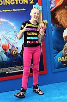 6 January 2018 - Los Angeles, California - JoJo Siwa. &ldquo;Paddington 2&rdquo; L.A. Premiere held at the Regency Village Theatre.  <br /> CAP/ADM<br /> &copy;ADM/Capital Pictures
