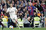 Real Madrid CF's Lucas Vazquez and FC Barcelona's Marcos Llorente during the King's Cup semifinals match. February 27,2019. (ALTERPHOTOS/Alconada)
