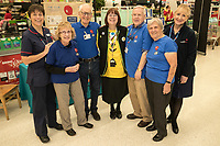 Nottingham Breathe Easy Group were raising awareness at Asda West Bridgford. Pictured from left are Specialist Respiratory Nurse Alison Sutherland, Barbara Preston, Malcolm Ginever, Asda Community Champion Christine Conway, Tom Wedgewood, Patricia Smith and Eizabeth Marsden