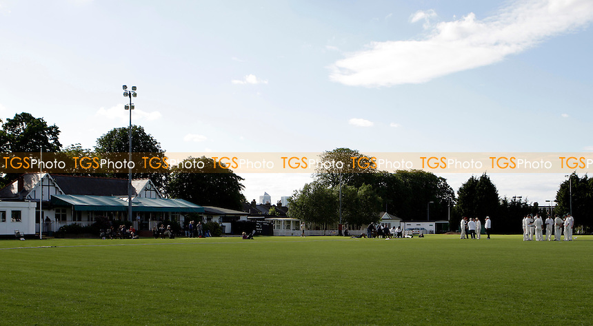 General view of Rectory Field - Blackheath CC vs Bickley Park CC - Kent Cricket League at Rectory Field - 09/06/12 - MANDATORY CREDIT: Helen Watson/TGSPHOTO - Self billing applies where appropriate - 0845 094 6026 - contact@tgsphoto.co.uk - NO UNPAID USE.