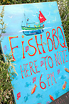 Cadgwith bbq sign
