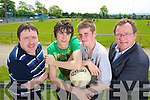 Promoting the Friends of Desmonds Initiative which includes the clubs lotto from left Tommy Dom O'Connor, Thomas Nolan, Francis McAulliffe and Colm Kirwin.