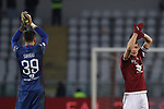 Salvatore Sirigu and Andrea Belotti of Torino FC applaud the fans after the final whistle of the Serie A match at Stadio Grande Torino, Turin. Picture date: 12th January 2020. Picture credit should read: Jonathan Moscrop/Sportimage
