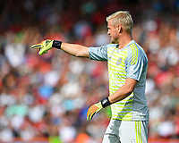 Kasper Schmeichel of Leicester City during AFC Bournemouth vs Leicester City, Premier League Football at the Vitality Stadium on 15th September 2018