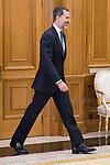 King Felipe VI of Spain at Zarzuela Palace in Madrid, April 19, 2017. Spain.<br /> (ALTERPHOTOS/BorjaB.Hojas)