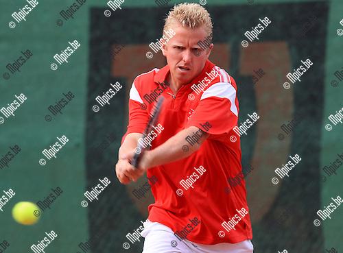2010-08-14 / Tennis / Tornooi stad Antwerpen / Stefan Wauters..Foto: mpics