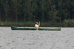 Ruben Rassi Canoeing On Lake Mutanda