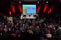 4. Stadtforum Berlin.<br /> Um ueber den Wandel der Stadt und noetige stadtenwicklungspolitische Massnahmen und Moeglichkeiten zu diskutieren fand am Montag den 4. April 2016 im Berliner Tempodrom das 4. Stadtforum Berlin statt.<br /> Berlins Senator fuer Stadtentwicklung und Umwelt, Andreas Geisel (SPD), hielt die Einfuehrung zu der Veranstaltung.<br /> 4.4.2016, Berlin<br /> Copyright: Christian-Ditsch.de<br /> [Inhaltsveraendernde Manipulation des Fotos nur nach ausdruecklicher Genehmigung des Fotografen. Vereinbarungen ueber Abtretung von Persoenlichkeitsrechten/Model Release der abgebildeten Person/Personen liegen nicht vor. NO MODEL RELEASE! Nur fuer Redaktionelle Zwecke. Don't publish without copyright Christian-Ditsch.de, Veroeffentlichung nur mit Fotografennennung, sowie gegen Honorar, MwSt. und Beleg. Konto: I N G - D i B a, IBAN DE58500105175400192269, BIC INGDDEFFXXX, Kontakt: post@christian-ditsch.de<br /> Bei der Bearbeitung der Dateiinformationen darf die Urheberkennzeichnung in den EXIF- und  IPTC-Daten nicht entfernt werden, diese sind in digitalen Medien nach §95c UrhG rechtlich geschuetzt. Der Urhebervermerk wird gemaess §13 UrhG verlangt.]